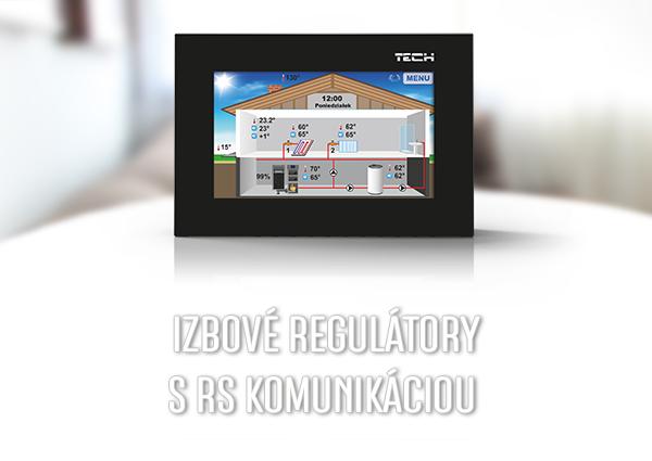 Pokojové termostaty s RS komunikací - TECH Sterowniki