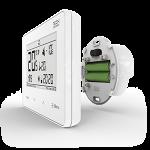 Dvoupolohové pokojové termostaty podomítkové